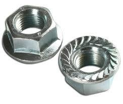 M4   Serrated Flange Nuts A2 Stainless Steel Pack of 100