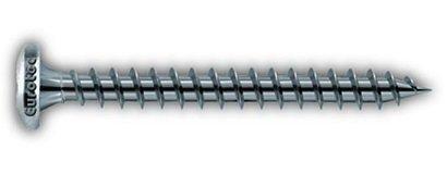 4,0 x 30 mm Pan-head TX 1000 - chipboard screw, External coated steel; TX20 Box of 1000