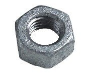 M6  Hexagon Full Nut Grade 8 Galvanised Box of 100