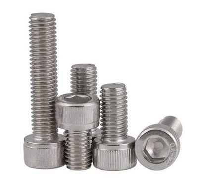 M3 x 12 Socket Caps A4 316 Marine Grade Stainless Steel