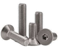 M12 x 20 Socket Countersunk Din 7991 Stainless Steel A2