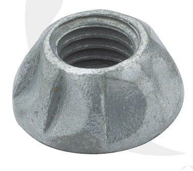M8 Kinmar One Way Nut Geomet Plated Box of 100