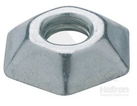 M12 Hexagon Tufnut  Box of 100