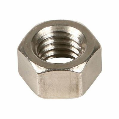 M18  Full Nuts Din 934 in A4 316 stainless steel