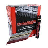 2.8 x 50mm (Bright) Firmahold Gas Fired 1st Fix Nails 1 box 3300 Nails & 3 Gases