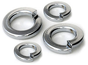 M3 Rectangular Section (Heavy Duty) Spring Washer Zinc Pack of 1