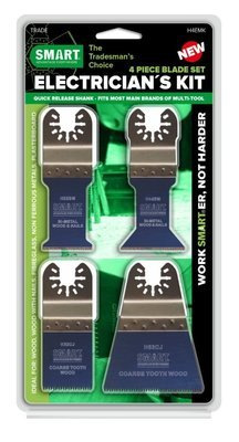 4 Piece Multi Tool Set for Electricians