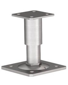 R101 130mm up to 165mm Post Feet  (1 Post Base)