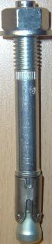 M8 x 75 JCP Through Bolts Option 1 Zinc Plated  Box of 100