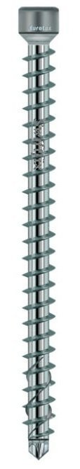 6.5mm x 160mm Cylinder Head KonstruX Wood Screws Fully Threaded Torx TX30 Zinc Plated  Box of 100