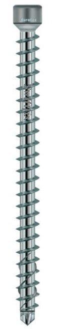 8.0mm x 155mm Cylinder Head KonstruX Wood Screws Fully Threaded Torx TX40 Zinc Plated  Box of 100