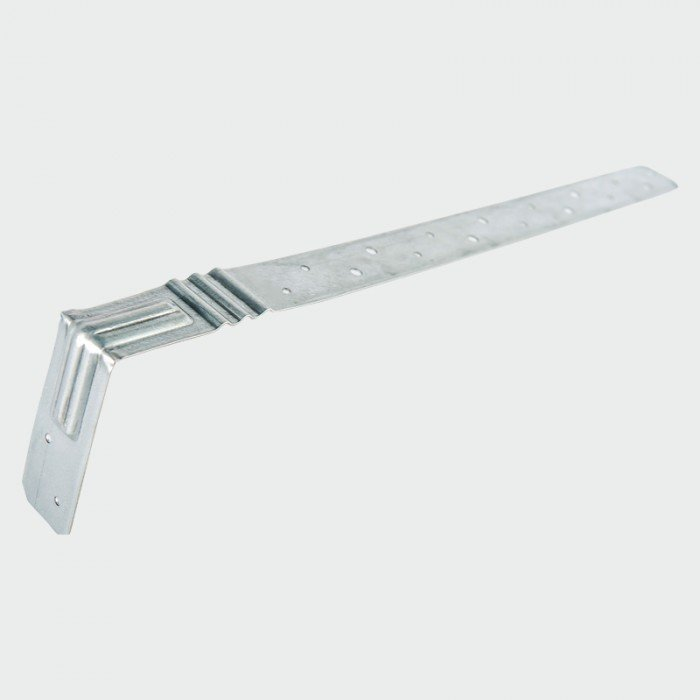 800/100mm x 1.4mm Thick Restraint Straps Galvanised Pack of 10