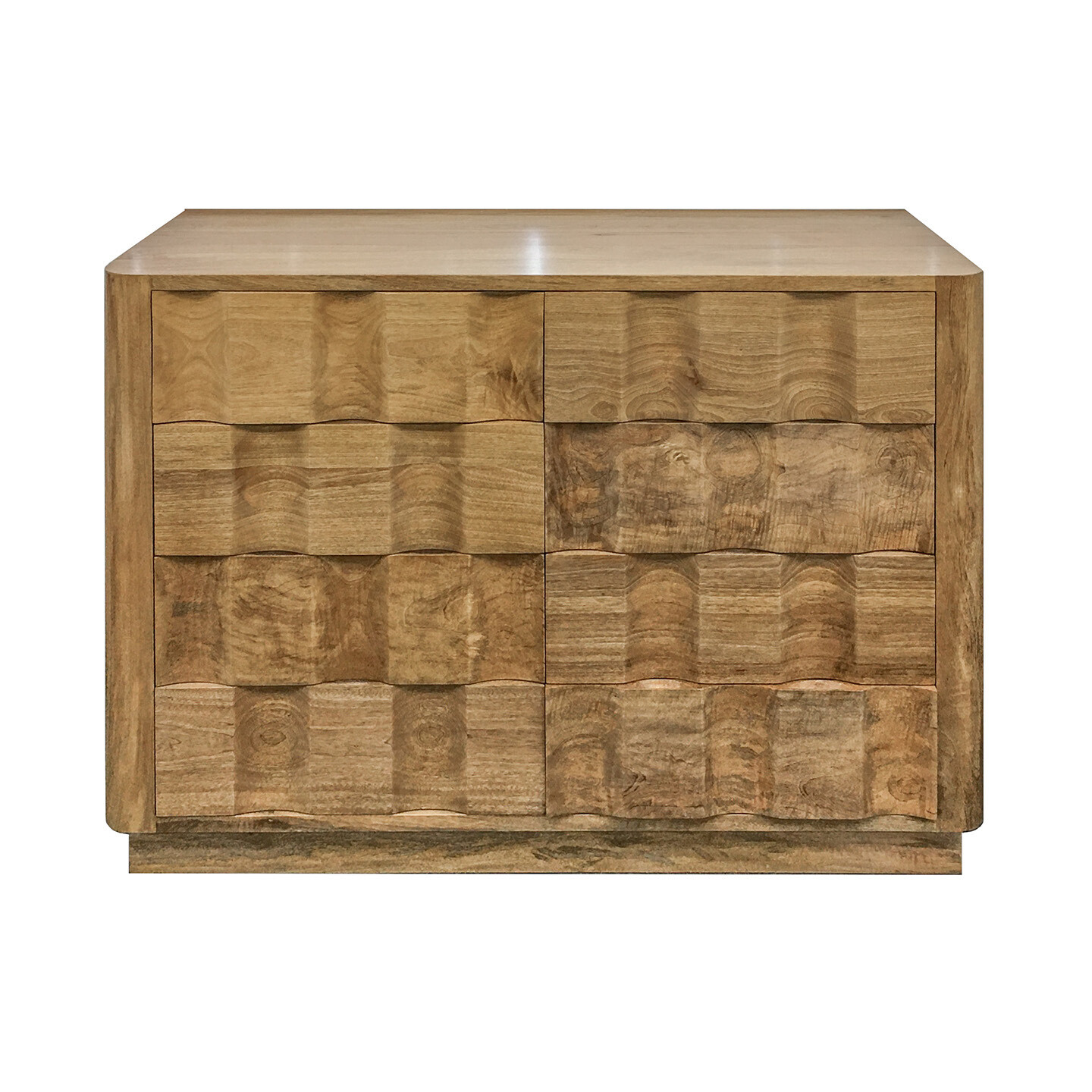 Aimee Chest 8 Drawer SS