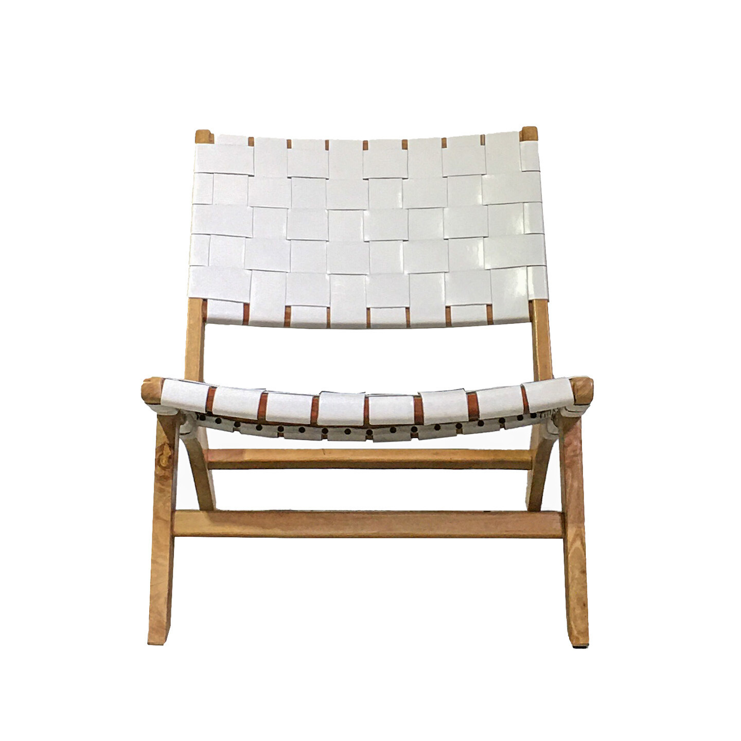 Amsterdam Chair White Leather SS