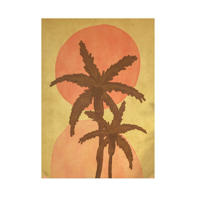 Sunset Palms Canvas