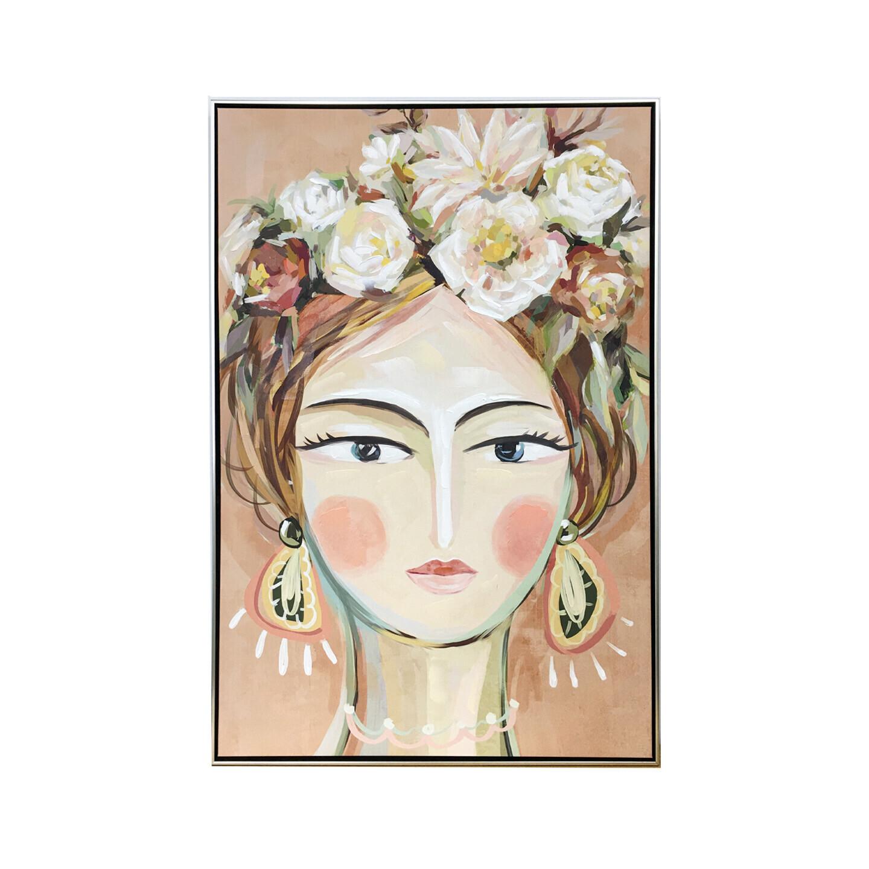 Jolie Framed Canvas