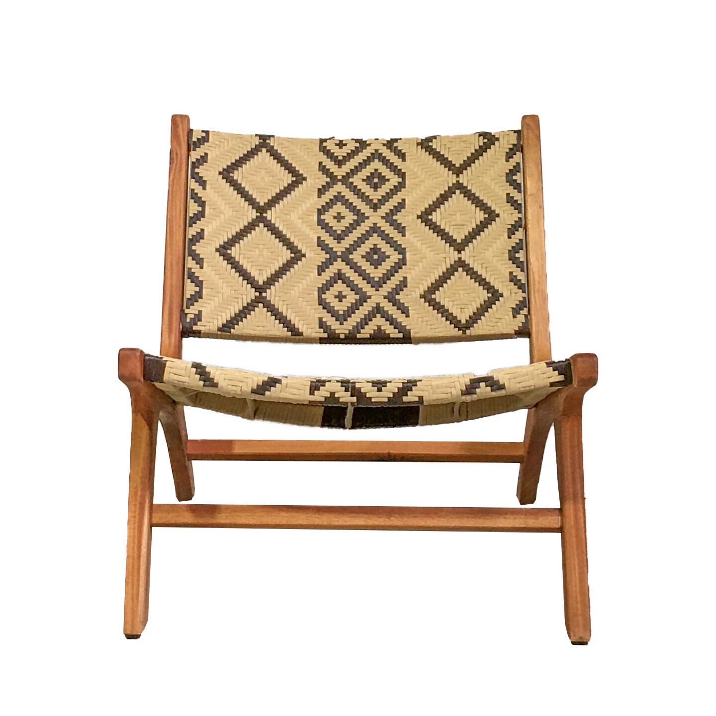 Batik Woven Chair