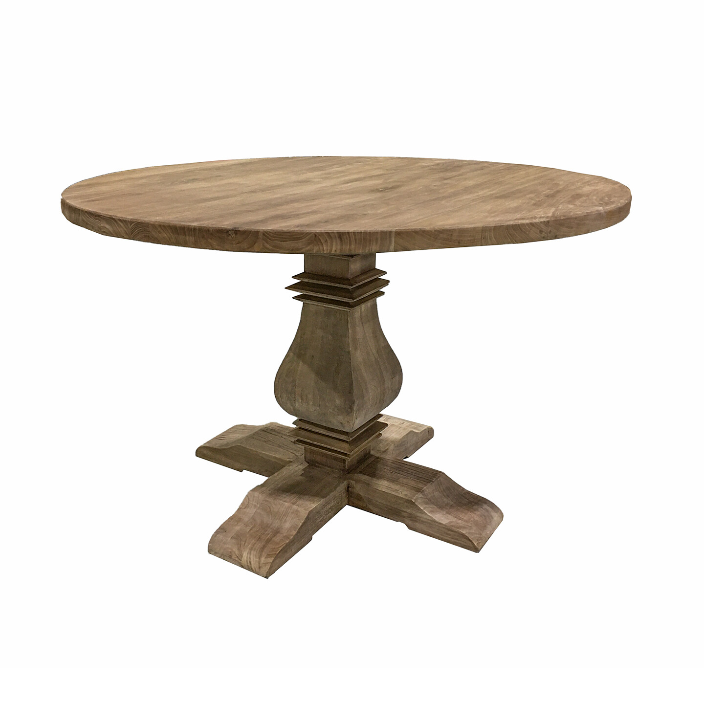 Recycled Elm Round Table