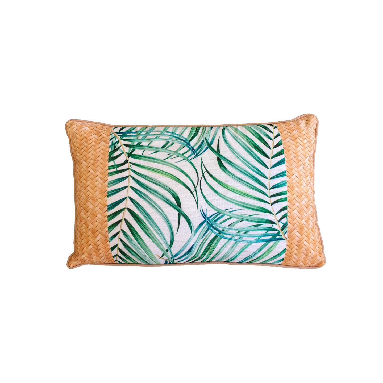 Hibiscus Palm Cushion 30cm x 50cm