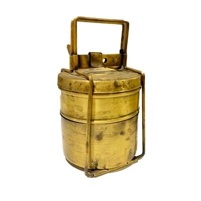 Vintage Brass Tiffin