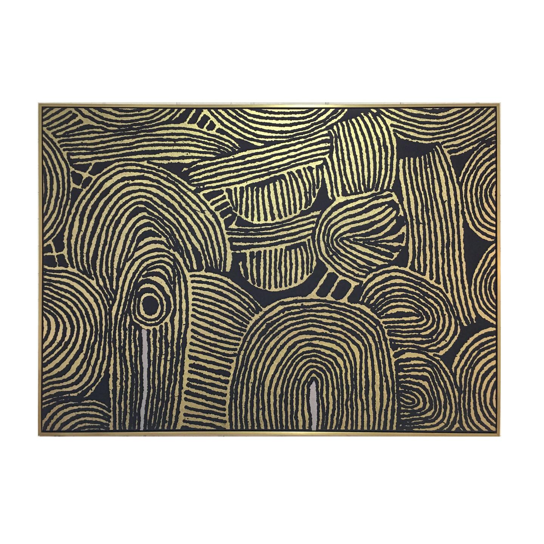 Kamunda Canvas with Gold Frame