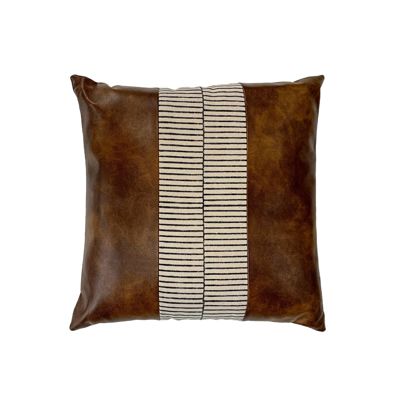 Christo Suede & Cotton Cushion 50 x 50cm