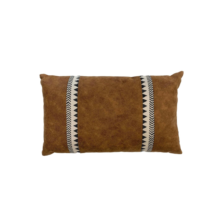 Christo Suede & Cotton Cushion 30cm x 50cm