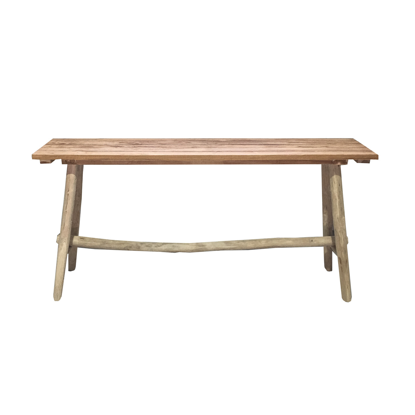 Recycled Teak Console