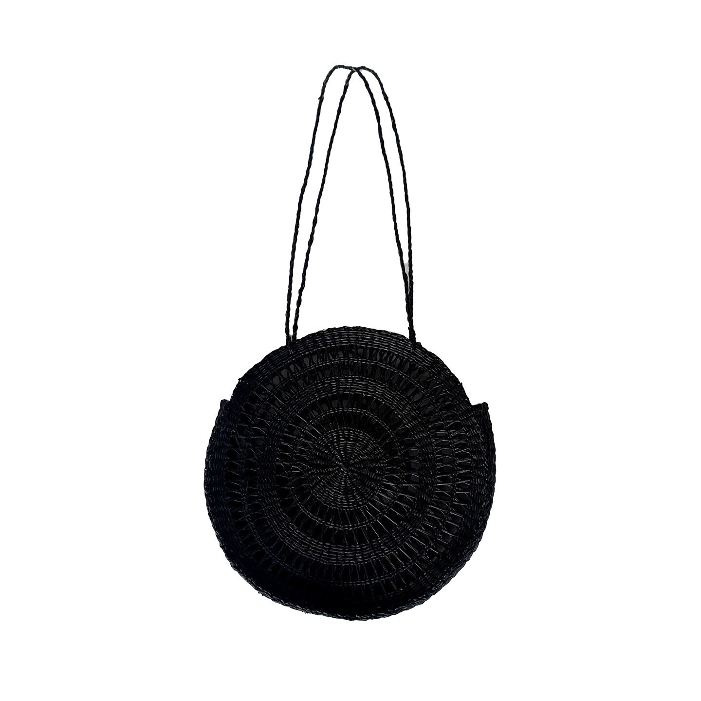 Seagrass Basket Black