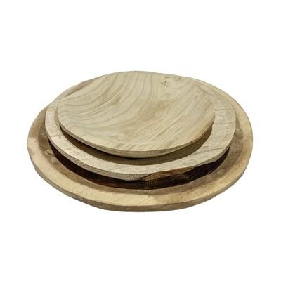 Paulownia Curved Bowl