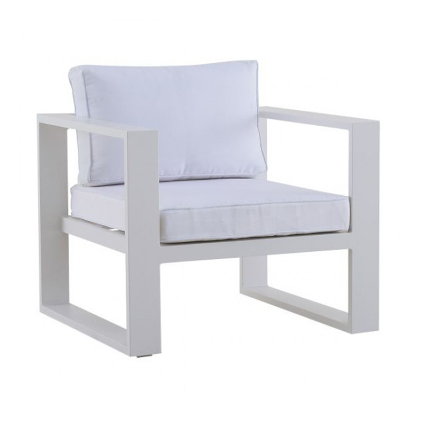 Outdoor Single Chair with Cushions