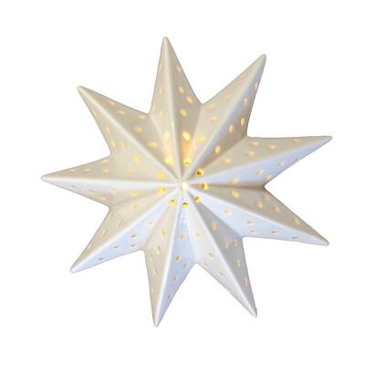 Ceramic Star Wall Light