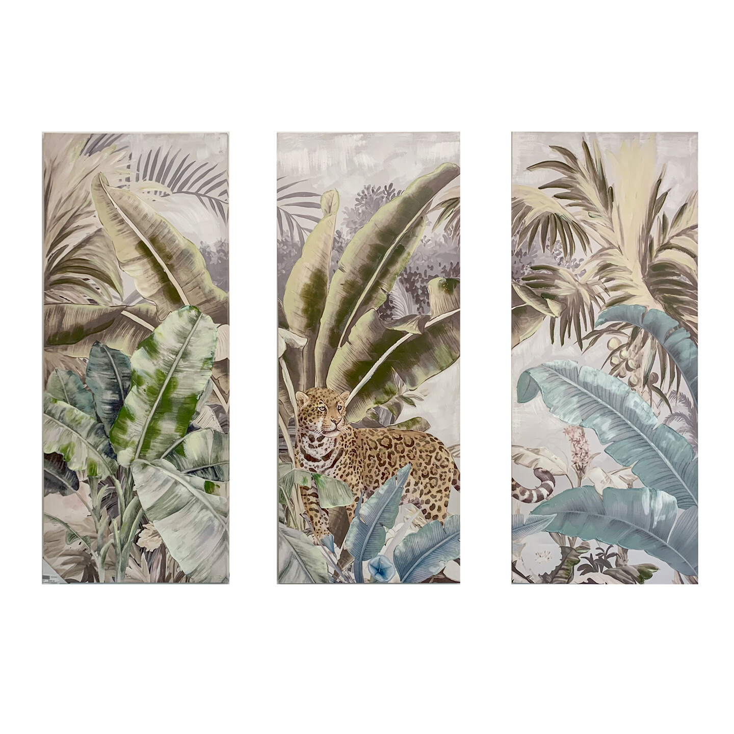 Jungle Trptych Painting