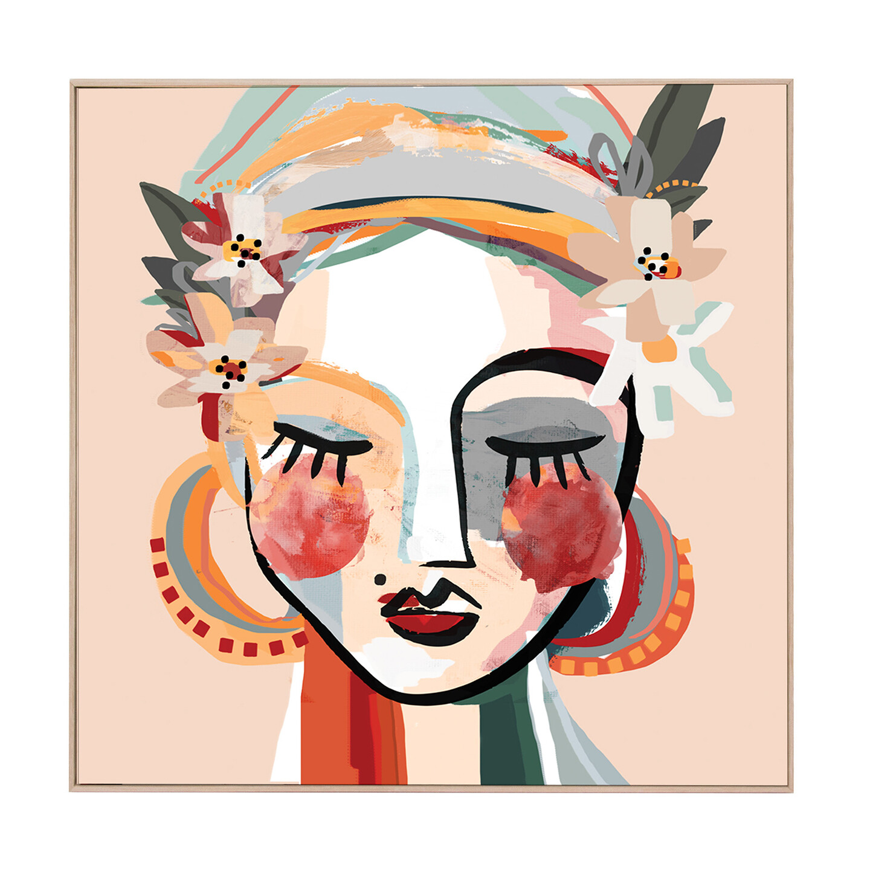 Beauty Artwork Peach