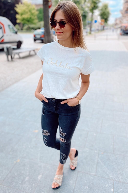Jeans Grey Destroyed