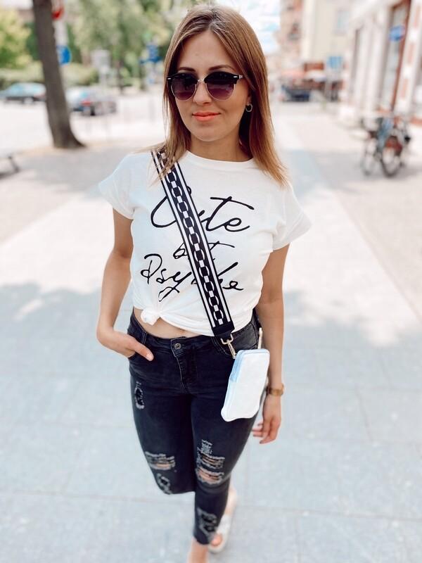 T-Shirt Cute But Psycho