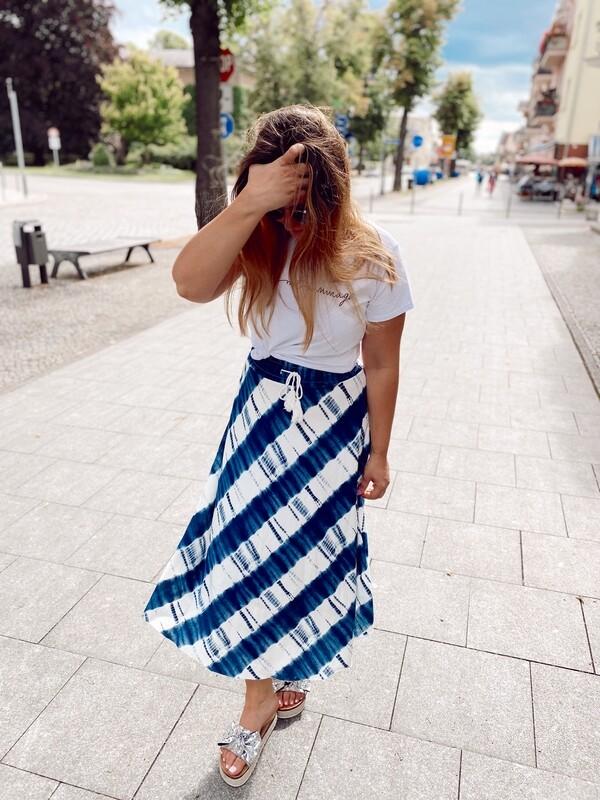 Skirt Batik Blue