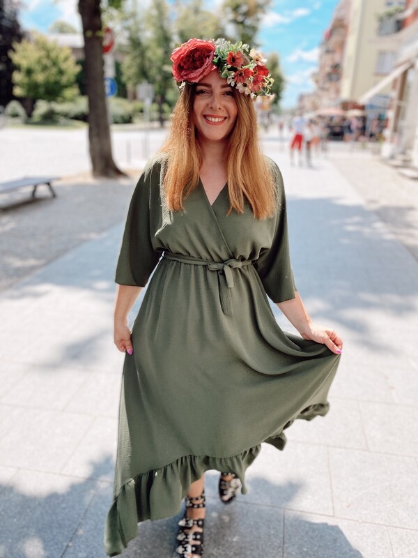 Dress Bella Grün