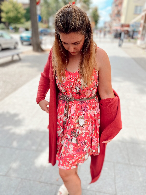 Dress Olana Short Pink