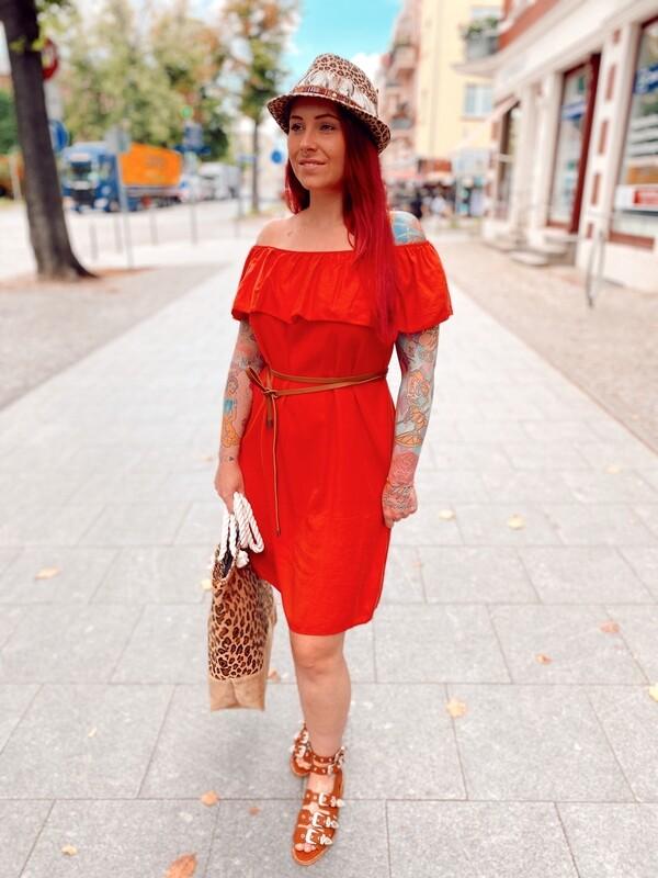 Dress Carmen Red