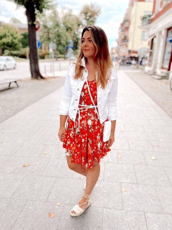 Dress Olana Short Red