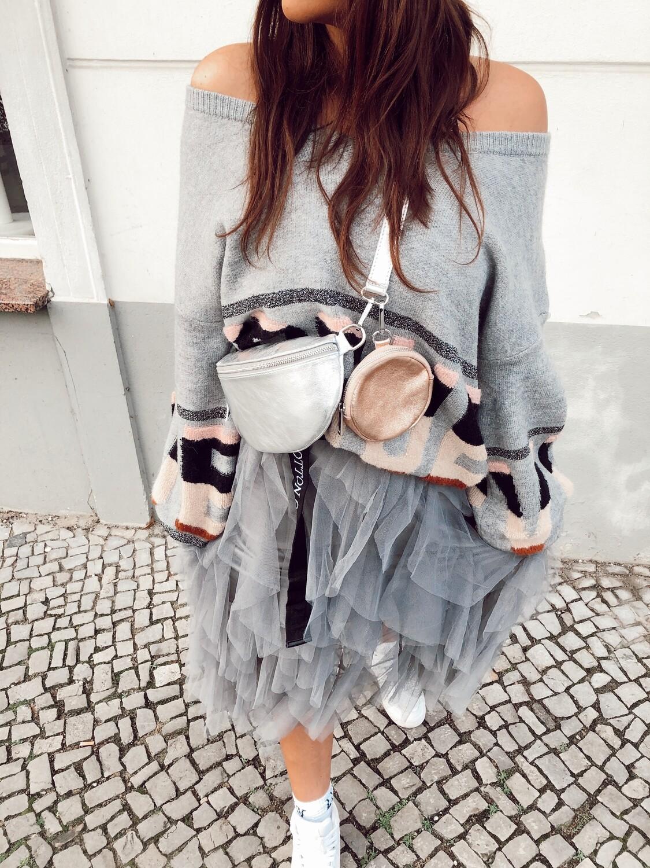 Bag Cross Silver