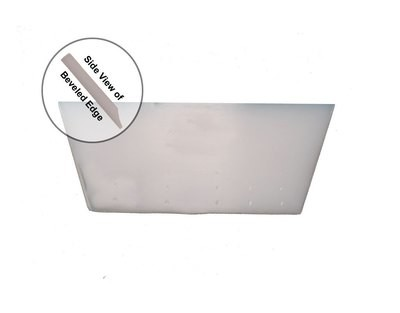 """5"""" X 2"""" CROPPED CLEAR MAX (BEVELED BLADE)"""
