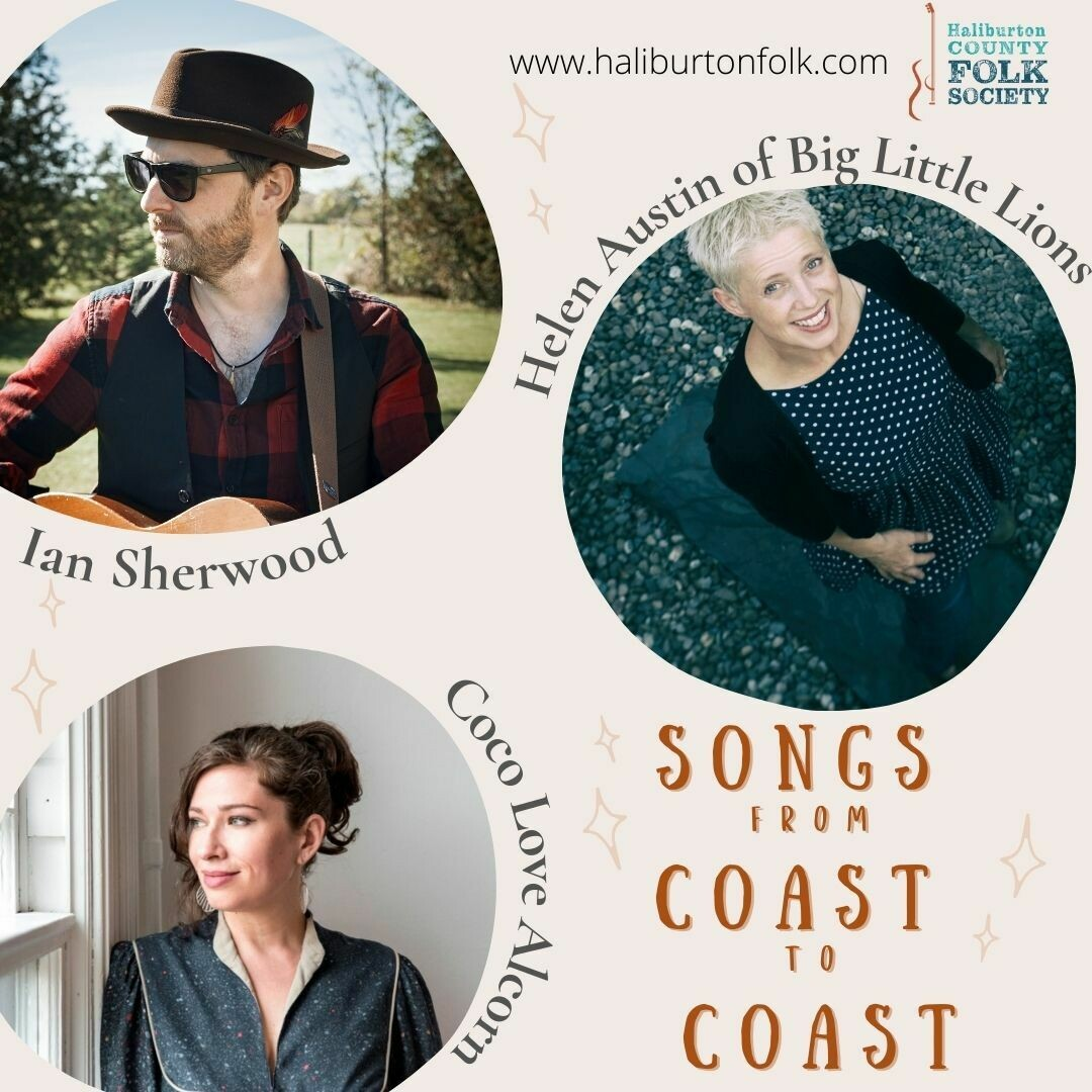 Songs from Coast to Coast - Sat. June 5 - 7:00pm EST