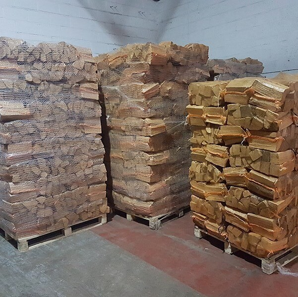 4 nets of logs for the burner