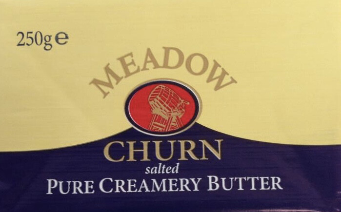 Meadow Churn Butter - Salted 250g