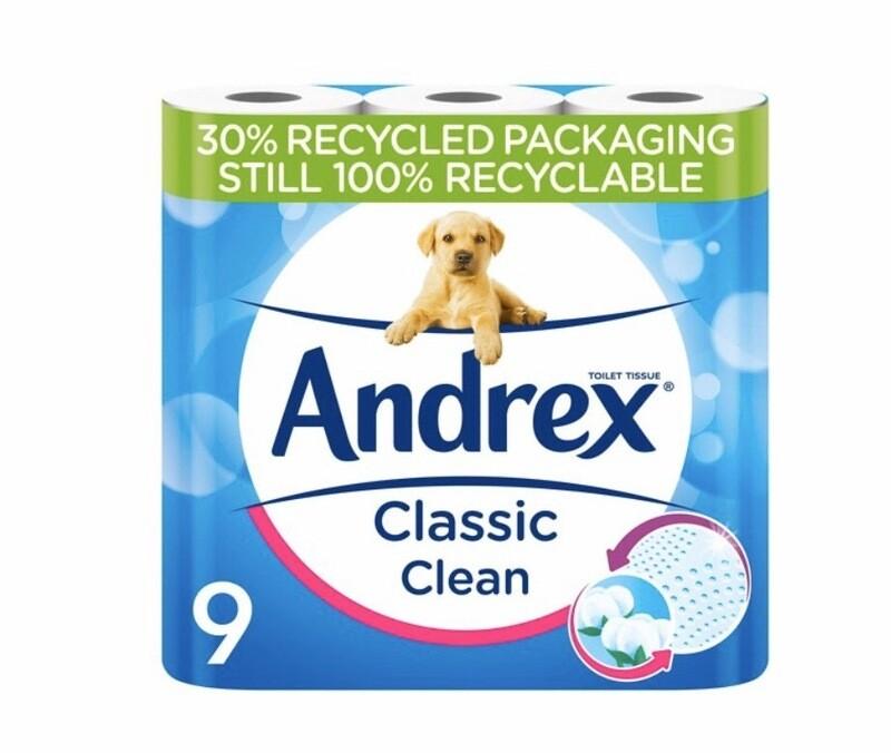 Andrex Classic Toilet Rolls X9