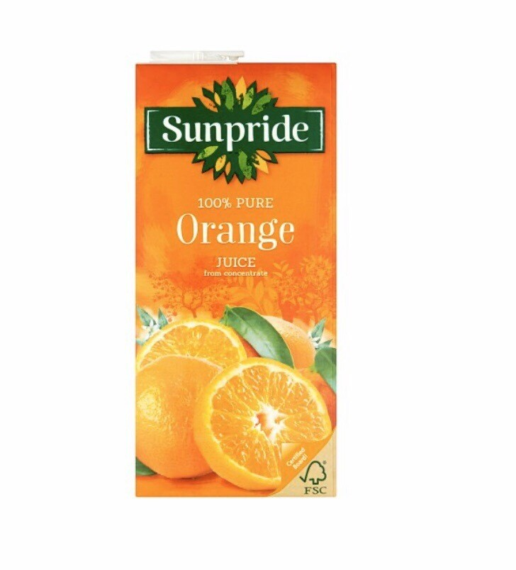 Surpride 100% Pure Orange Juice