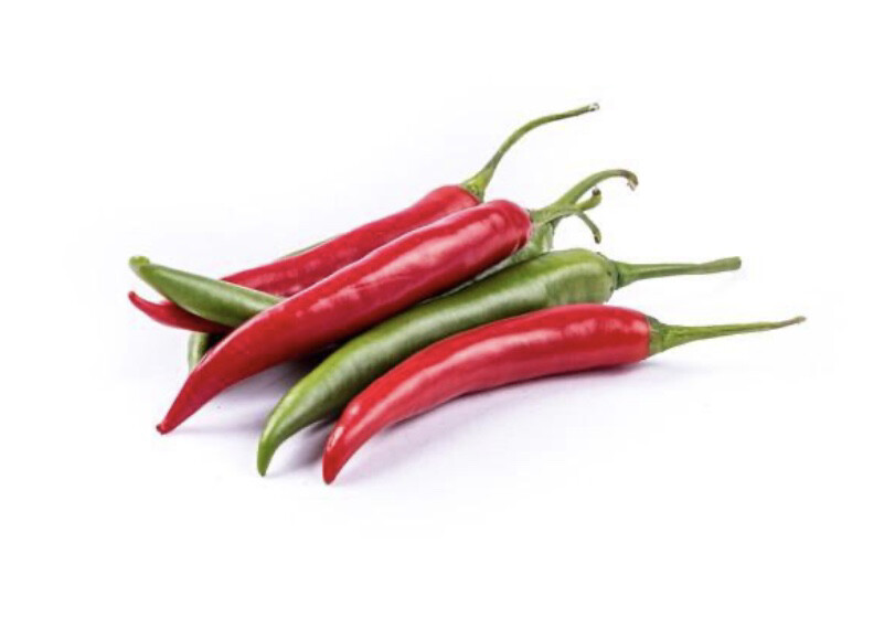 Mixed Chillies Red / Green 100g