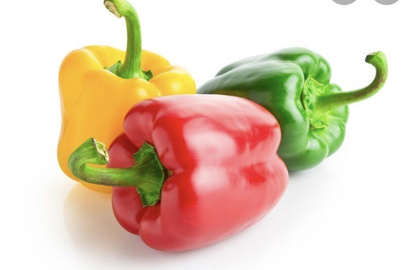 2 Mixed Peppers ( Various Colours )
